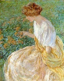 The_Yellow_Flower_aka_The_Artist-s_Wife_in_the_Garden