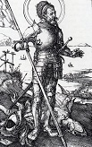 Durer/St_George_On_Foot