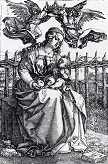Durer/Madonna_Crowned_By_Two_Angels