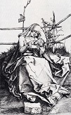 Durer/Madonna_On_A_Grassy_Bench