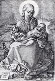 Durer/Madonna_With_The_Swaddled_Infant