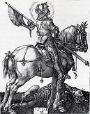 Durer/St_George_On_Horseback