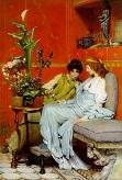 confidences /Lawrence Alma-Tadema