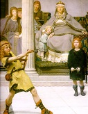 The_Education_of_the_Children_of_Clovis/Alma_Tadema