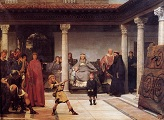 The_Education_of_the_Children_of_Clovis / Lawrence Alma-Tadema