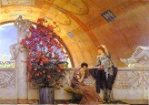 Preparation_in_the_Colosseum / Lawrence Alma-Tadema