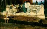 an_exedra / Lawrence Alma-Tadema