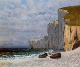 Courbet_Gustave/A_Bay_with_Cliffs