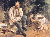 Portrait of_Proudhon in_1853